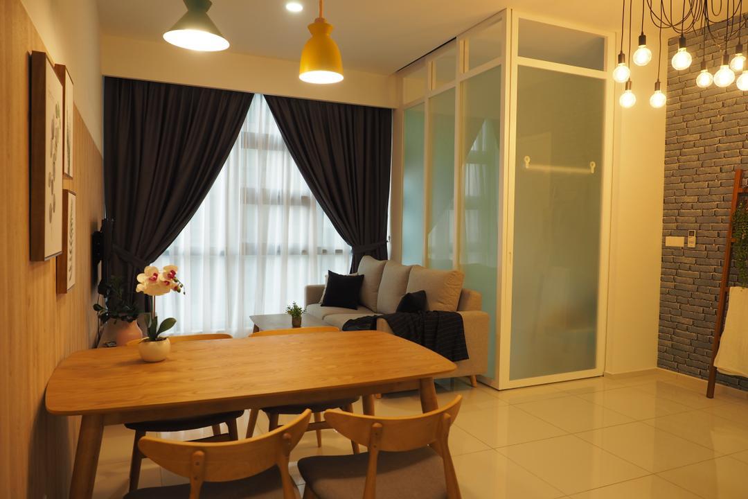 The Robertson Residences Bukit Bintang by Interior Hunters Sdn Bhd