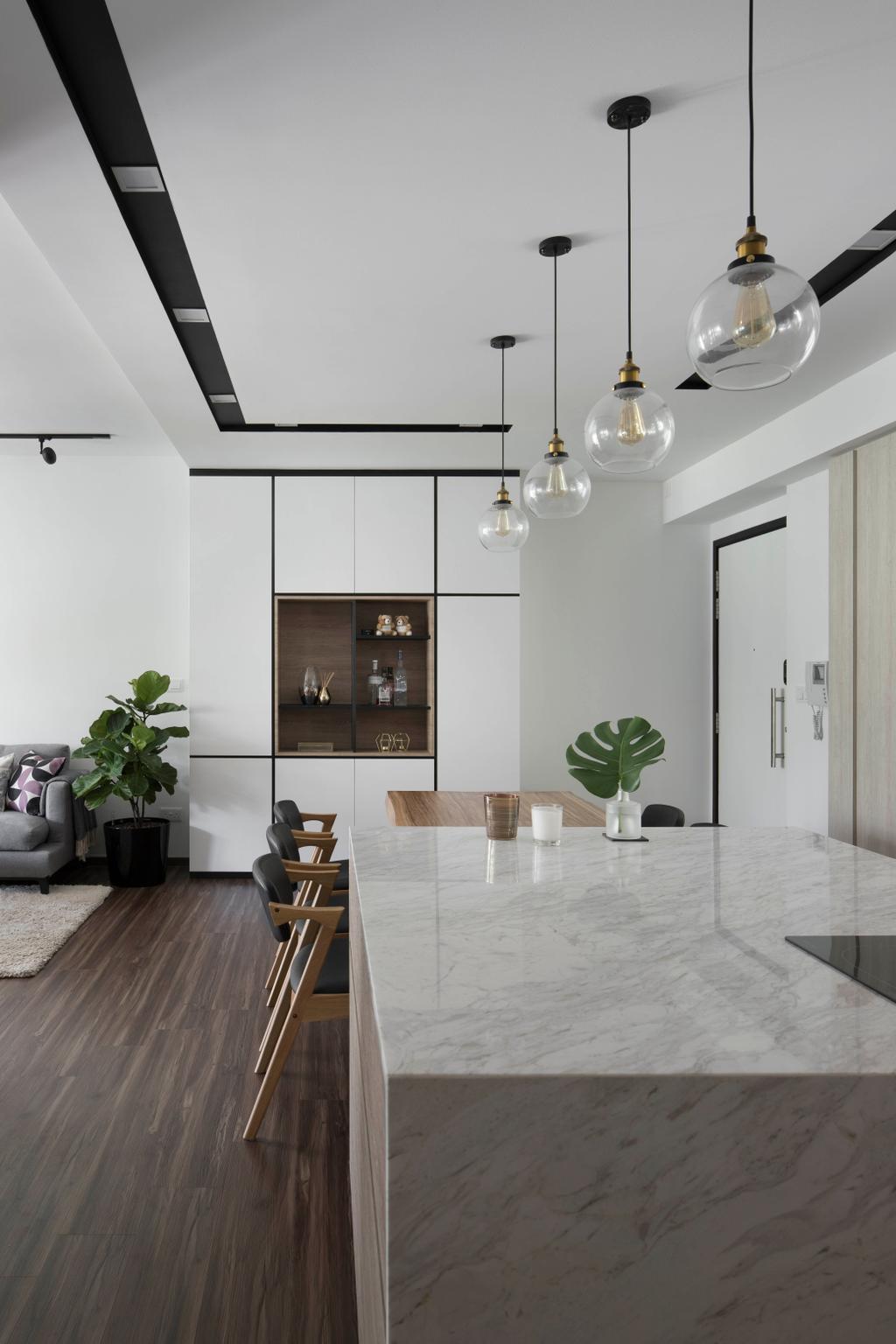 Contemporary, Condo, The Calrose, Interior Designer, Fuse Concept