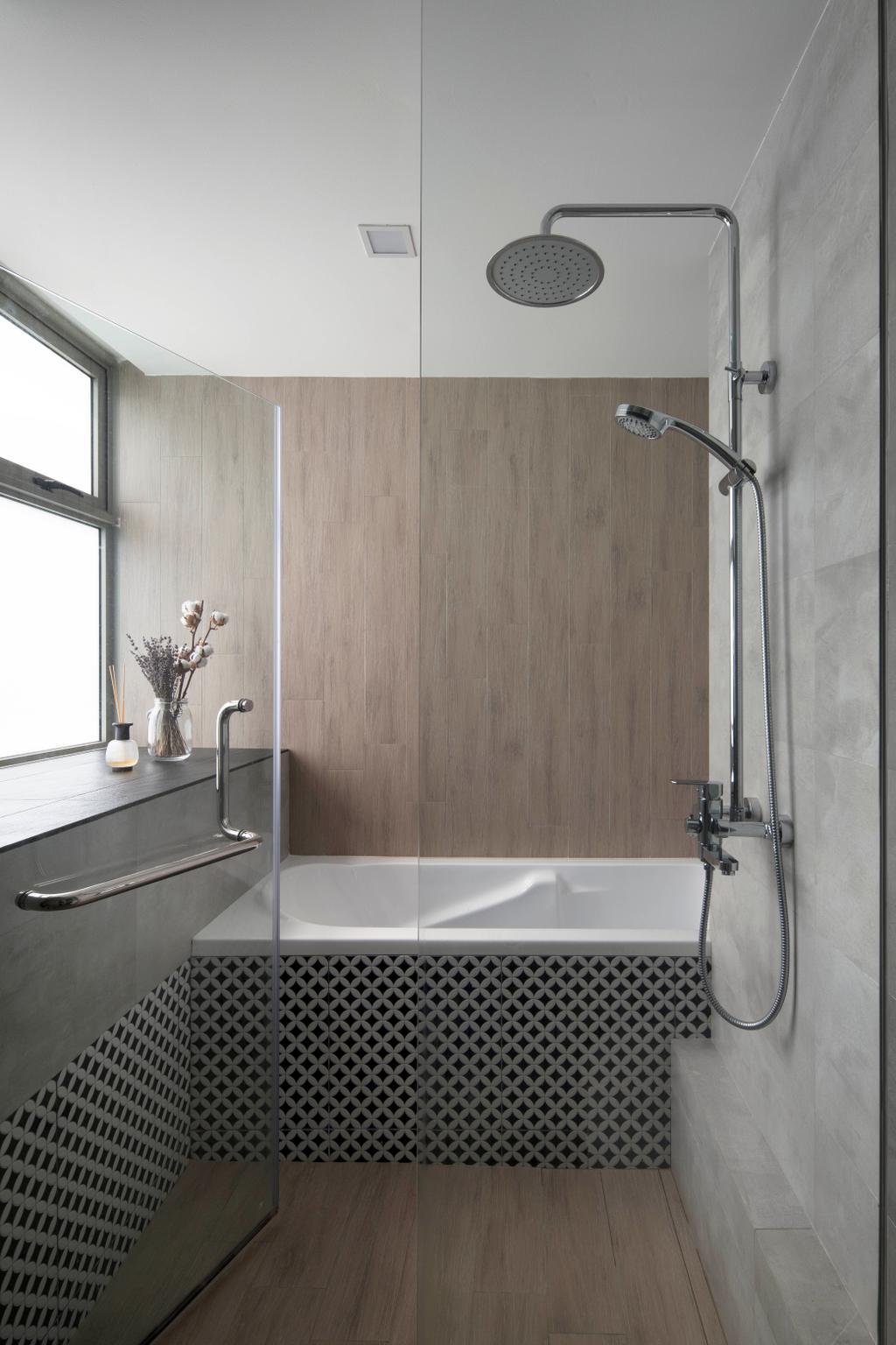 Contemporary, Condo, Bathroom, The Calrose, Interior Designer, Fuse Concept