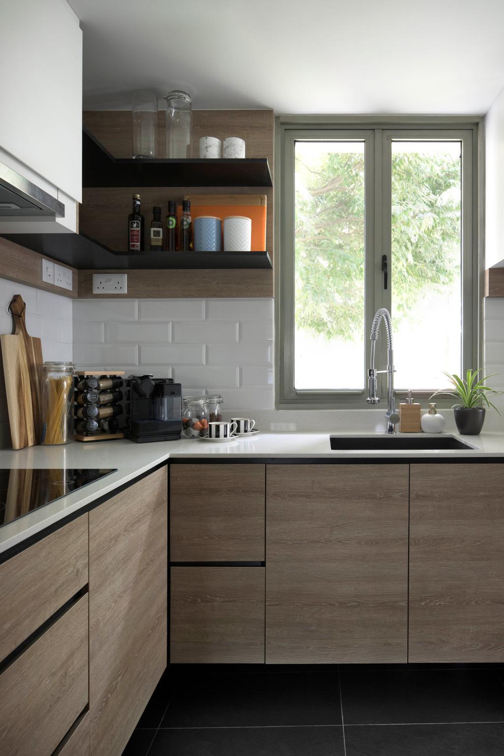 Contemporary, Condo, Kitchen, The Calrose, Interior Designer, Fuse Concept