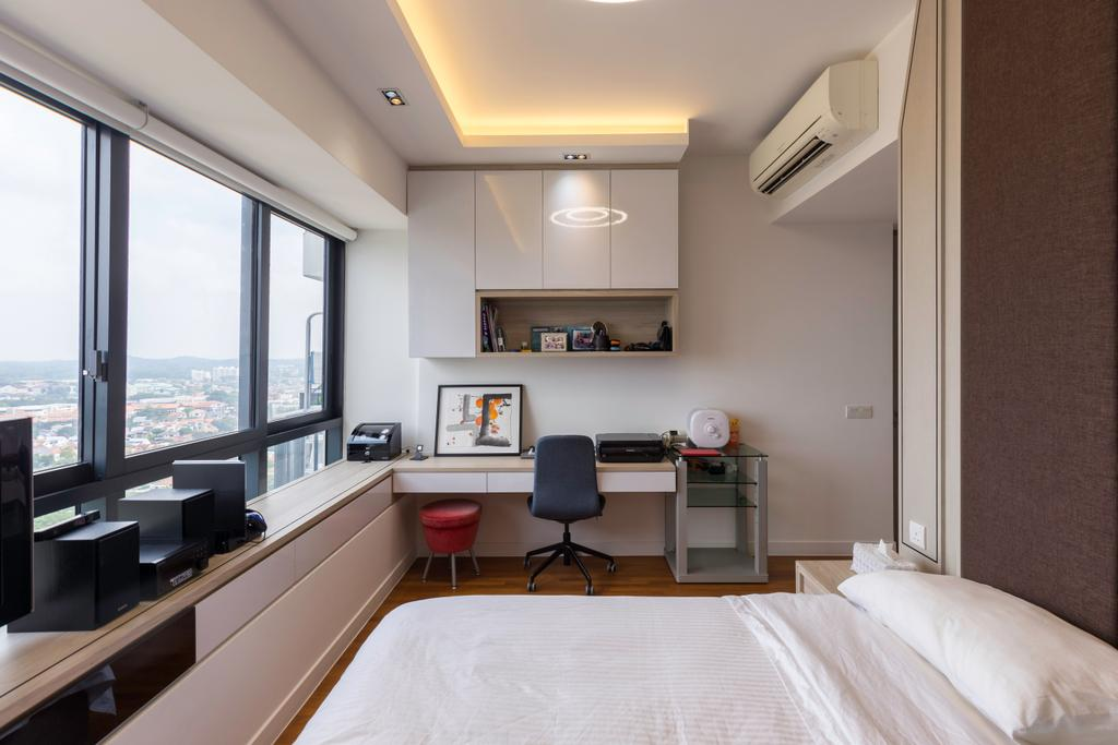 Contemporary, Condo, Bedroom, Leedon Heights, Interior Designer, MADE Artisan ID