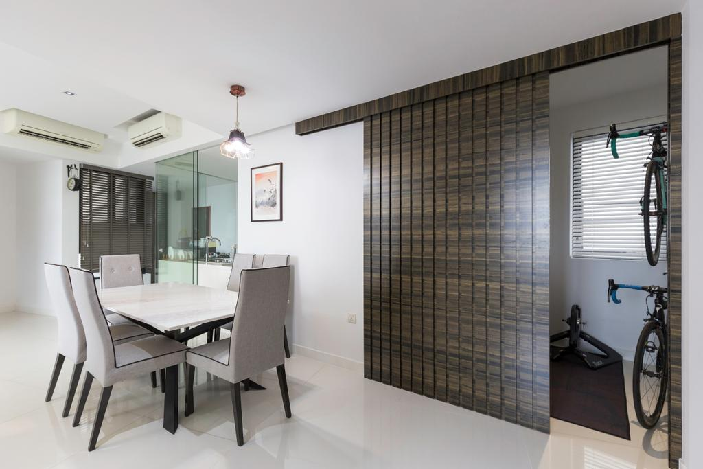 Contemporary, Condo, Dining Room, Leedon Heights, Interior Designer, MADE Artisan ID