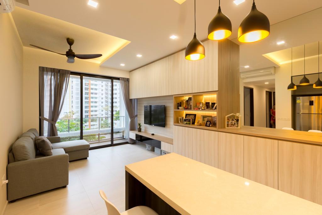 Contemporary, Condo, Dining Room, D'Nest, Interior Designer, Dyel Design