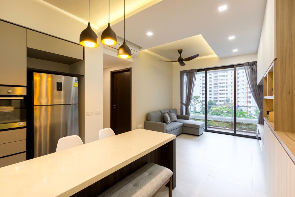 Contemporary, Condo, D'Nest, Interior Designer, Dyel Design