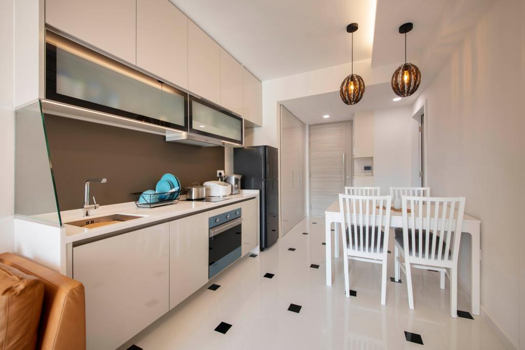 Scandinavian, Condo, Kitchen, Sophia Hills, Interior Designer, Starry Homestead