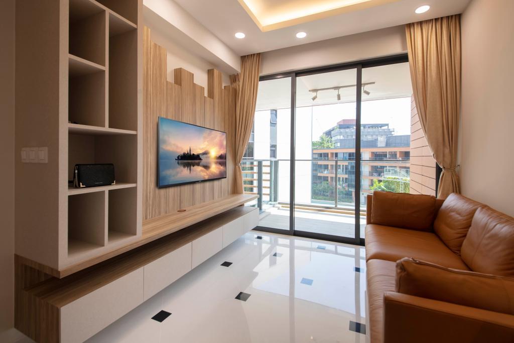 Scandinavian, Condo, Living Room, Sophia Hills, Interior Designer, Starry Homestead