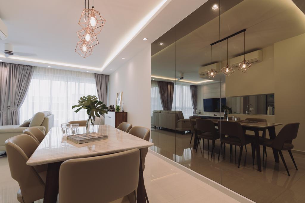 Contemporary, Condo, Dining Room, Sol Acres, Interior Designer, Artmuse Interior