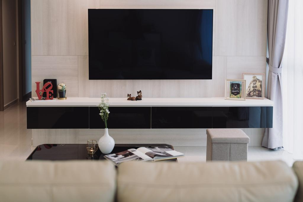 Contemporary, Condo, Living Room, Sol Acres, Interior Designer, Artmuse Interior