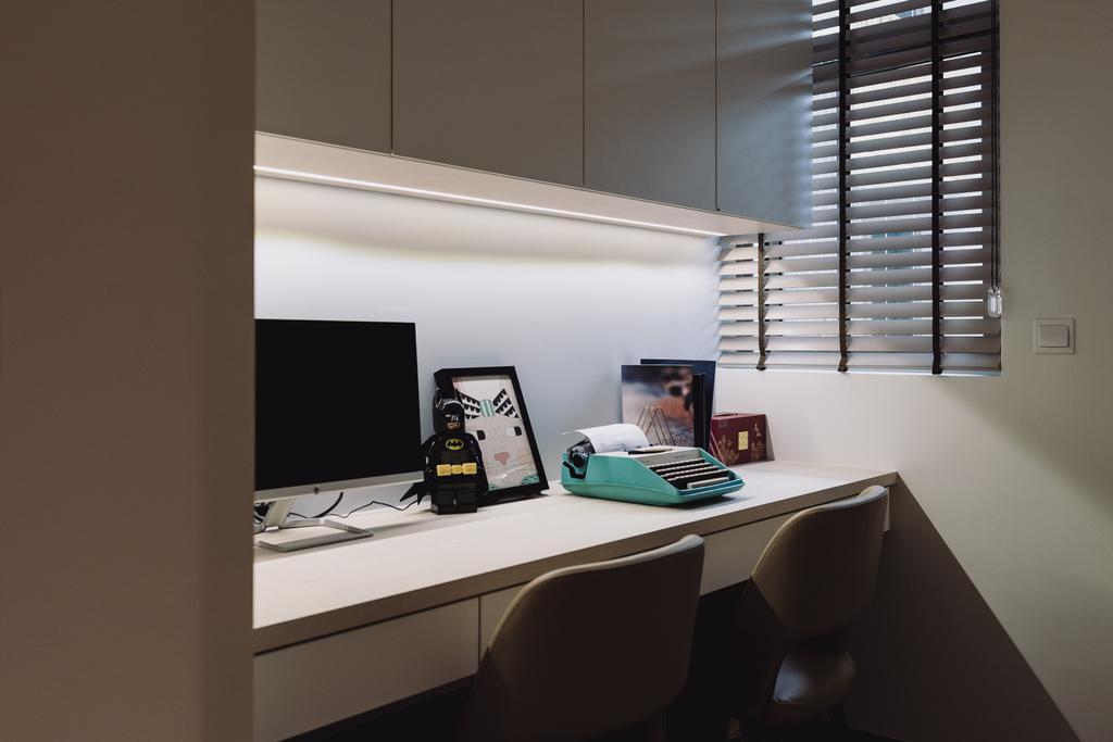 Contemporary, Condo, Study, Sol Acres, Interior Designer, Artmuse Interior