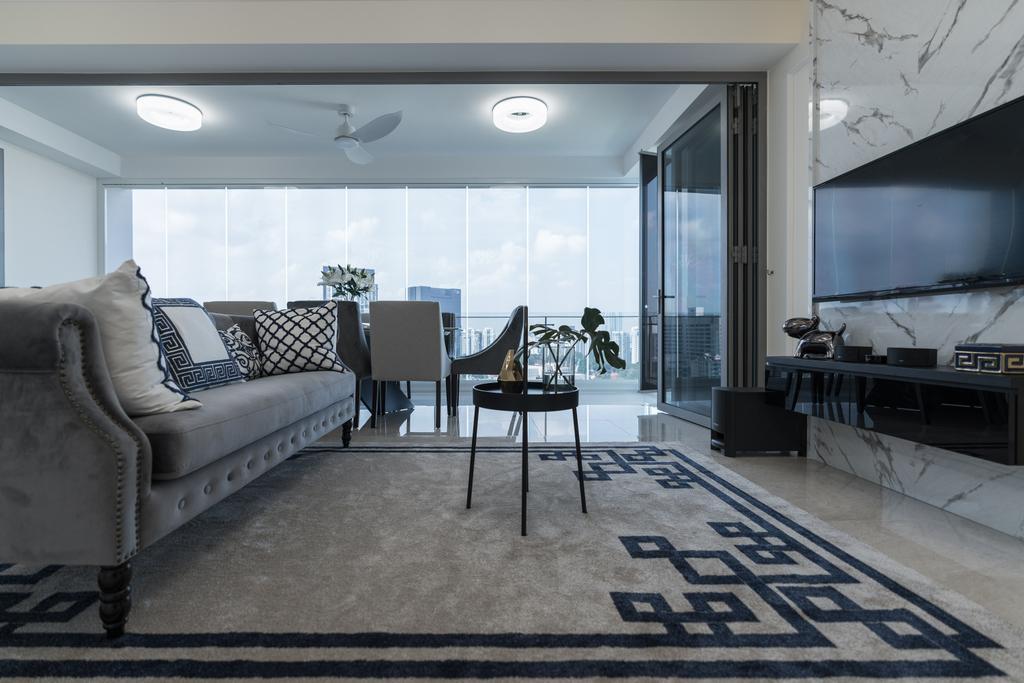 Contemporary, Condo, Living Room, Adria, Interior Designer, Artmuse Interior