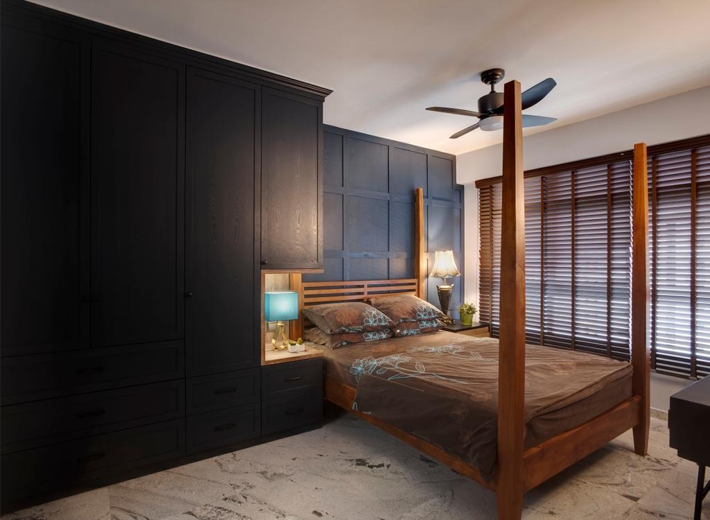 Contemporary, HDB, Bedroom, Compassvale Crescent, Interior Designer, Space Factor