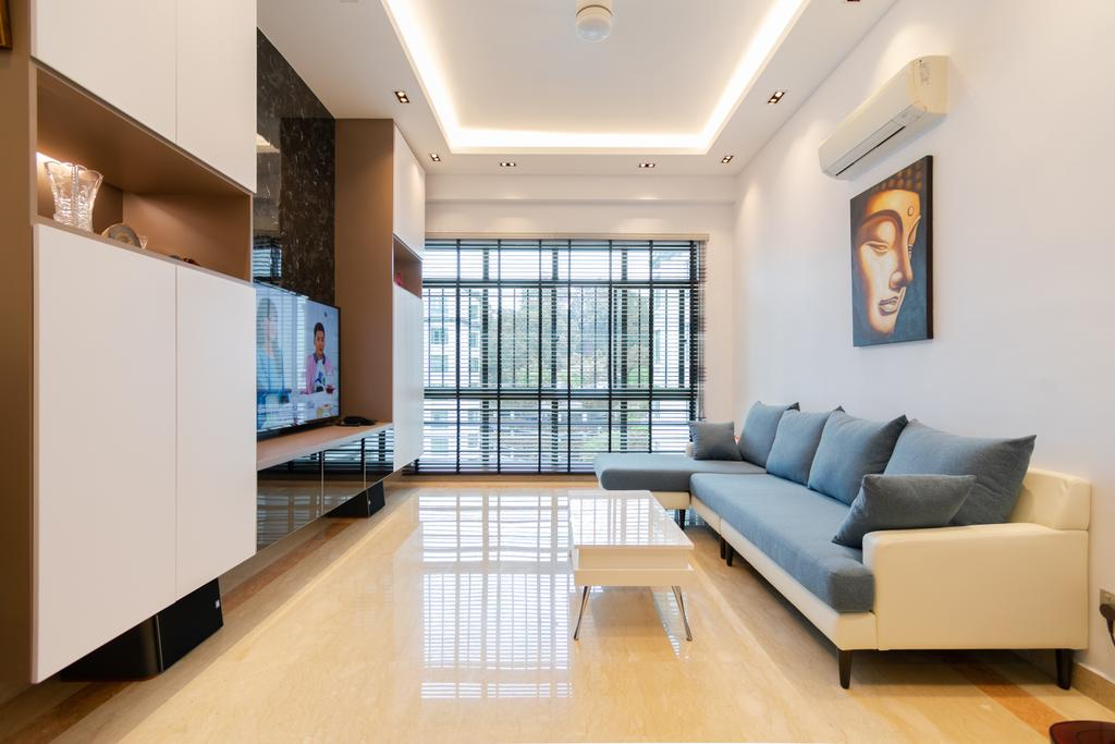 Contemporary, Condo, Living Room, The Hillside, Interior Designer, Yang's Inspiration Design