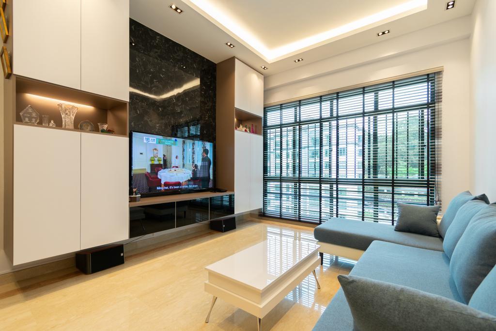 Contemporary, Condo, Living Room, The Hillside, Interior Designer, Yang's Inspiration Design