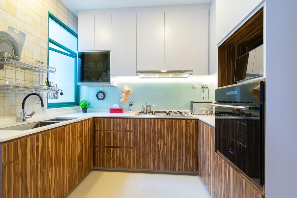 Contemporary, Condo, Kitchen, The Hillside, Interior Designer, Yang's Inspiration Design