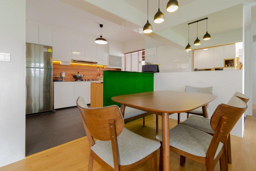 Contemporary, HDB, Dining Room, Sembawang Crescent, Interior Designer, Yang's Inspiration Design