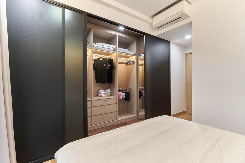 Contemporary, Condo, Bedroom, Eight Riversuites, Interior Designer, Azcendant