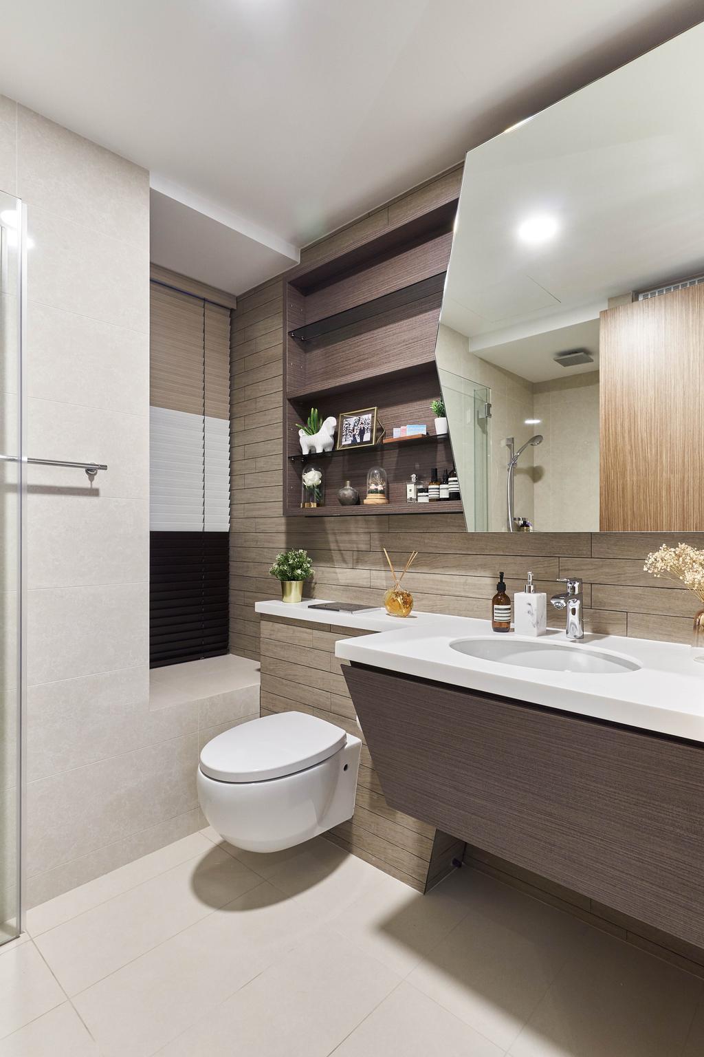 Contemporary, Condo, Bathroom, V on Shenton, Interior Designer, MET Interior