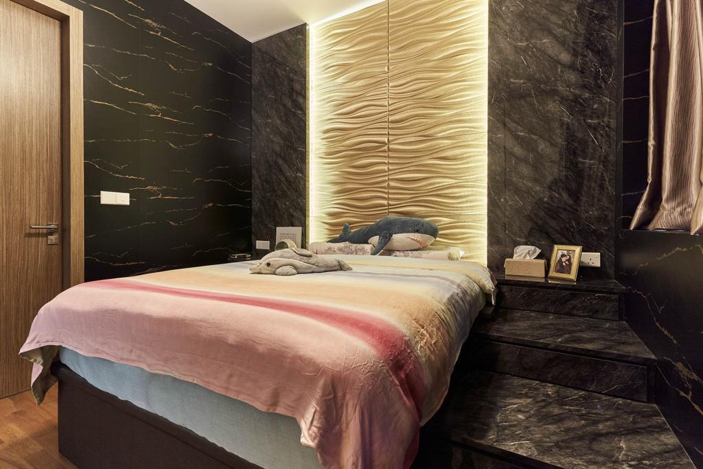 Contemporary, Condo, Bedroom, V on Shenton, Interior Designer, MET Interior