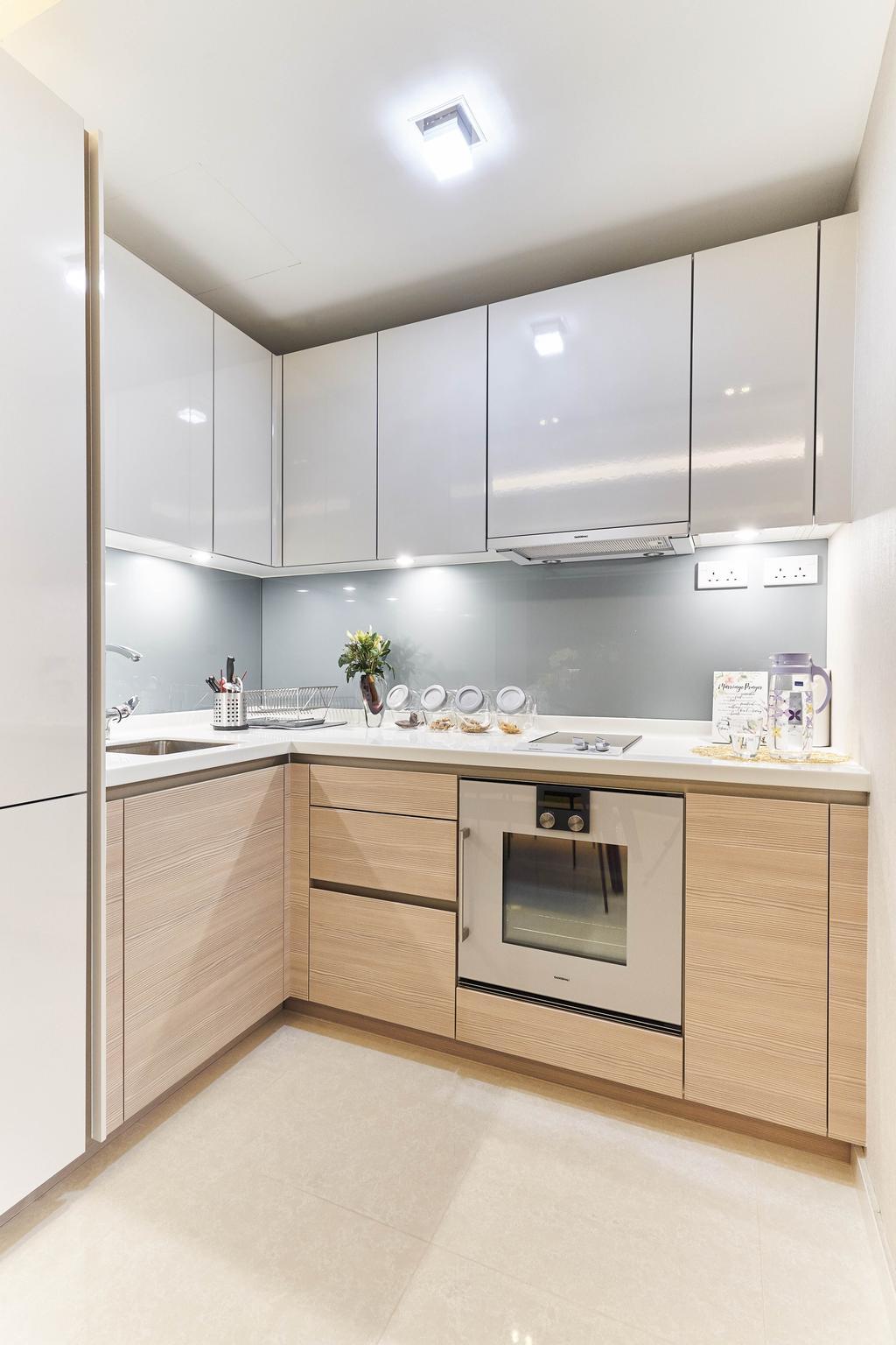 Contemporary, Condo, Kitchen, V on Shenton, Interior Designer, MET Interior