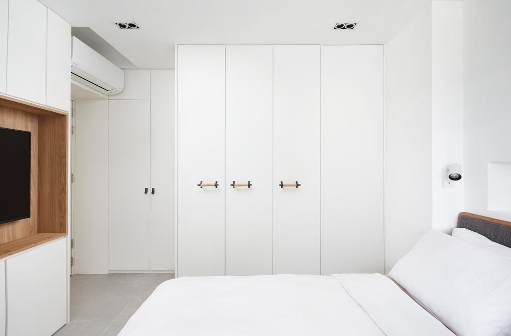 Contemporary, HDB, Bedroom, Serangoon Central, Interior Designer, The Local INN.terior 新家室