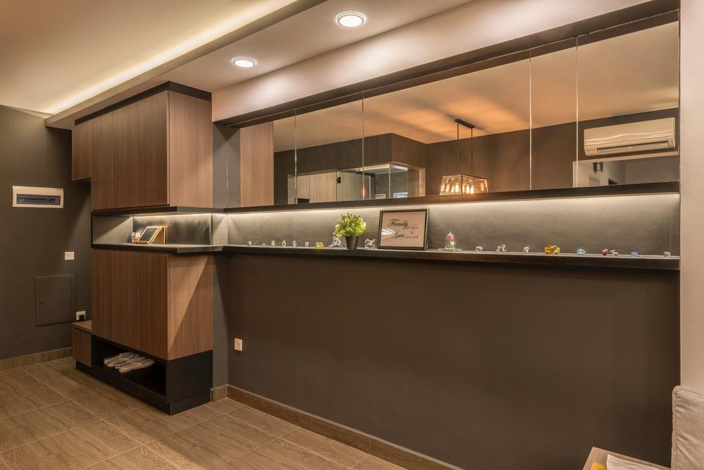 Contemporary, HDB, Punggol Drive, Interior Designer, New Age Interior
