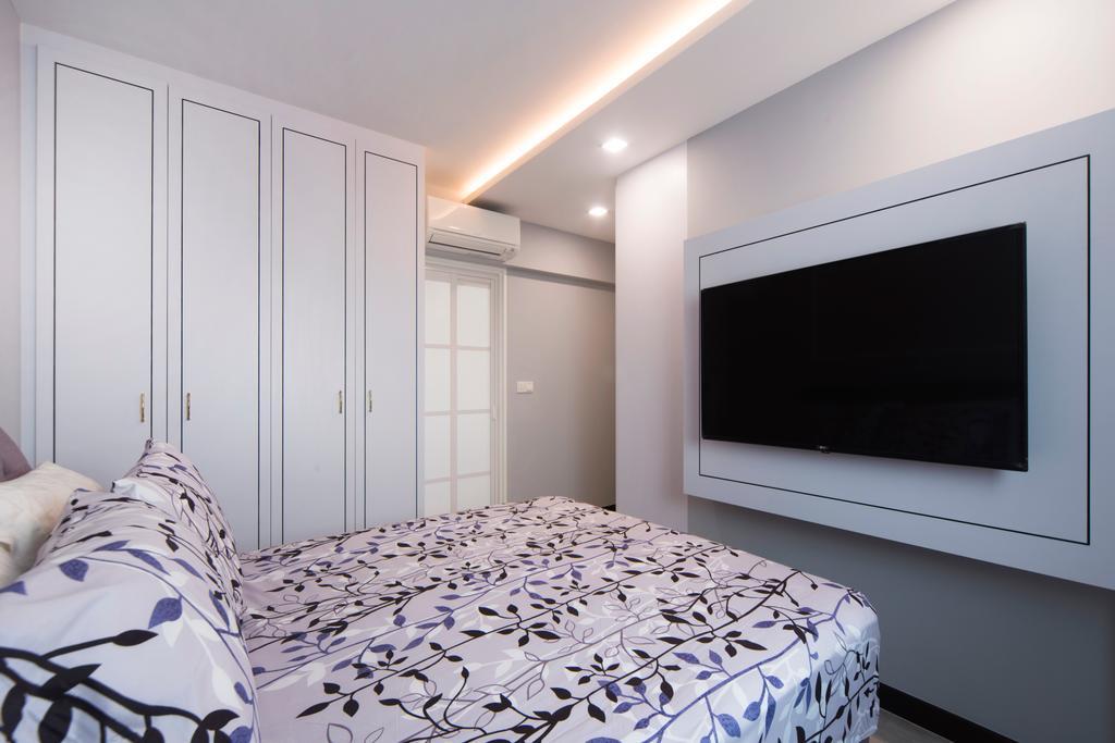 Contemporary, HDB, Bedroom, Lorong Limau, Interior Designer, Cozy Ideas Interior Design
