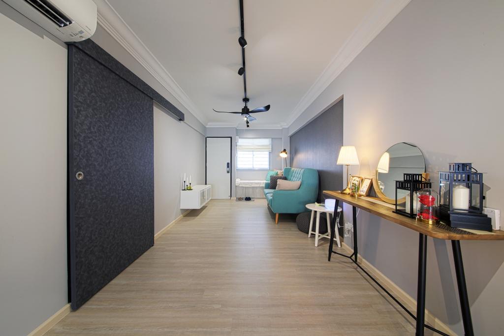 Contemporary, HDB, Living Room, Bedok North Road, Interior Designer, Dap Atelier