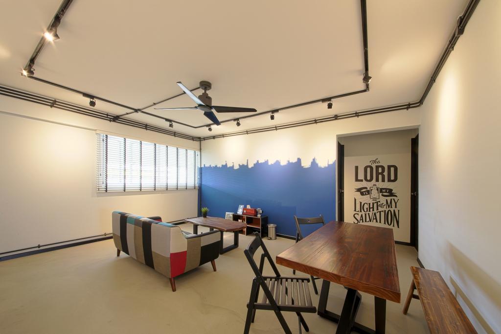 Contemporary, HDB, Living Room, Serangoon Avenue 4, Interior Designer, Dap Atelier