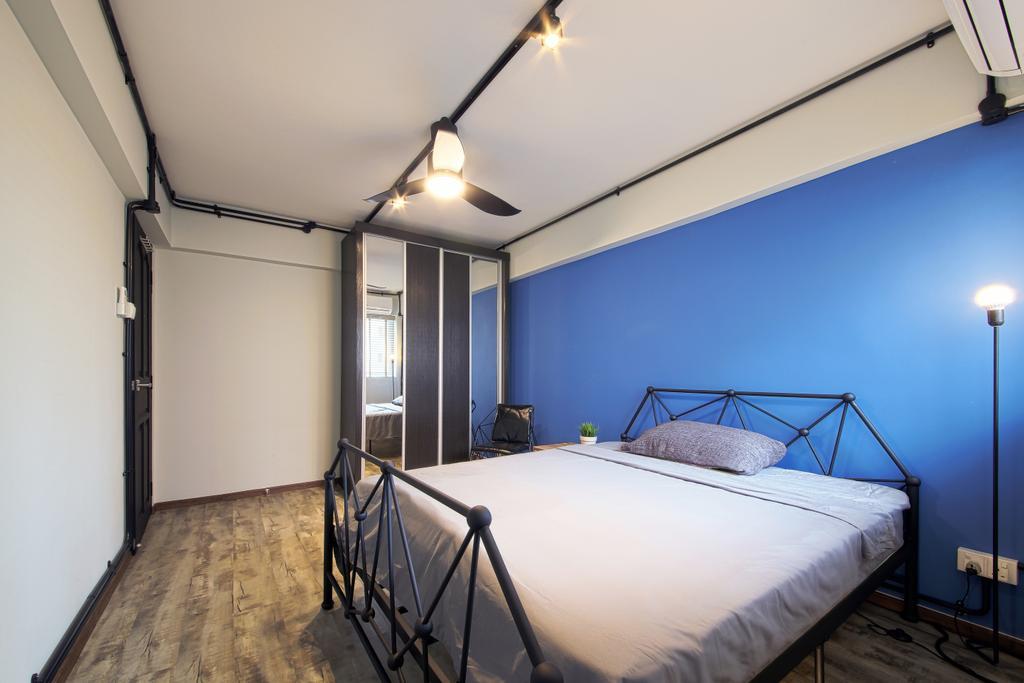 Contemporary, HDB, Bedroom, Serangoon Avenue 4, Interior Designer, Dap Atelier