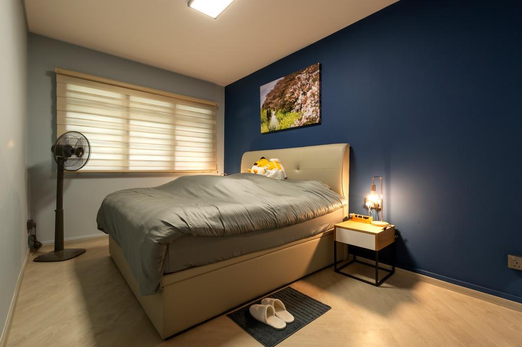 Contemporary, HDB, Bedroom, Jalan Membina, Interior Designer, ELPIS Interior Design