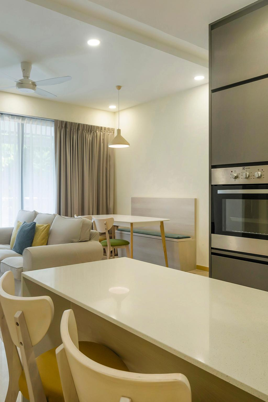 Contemporary, Condo, Dining Room, River Isles, Interior Designer, Cozy Ideas Interior Design