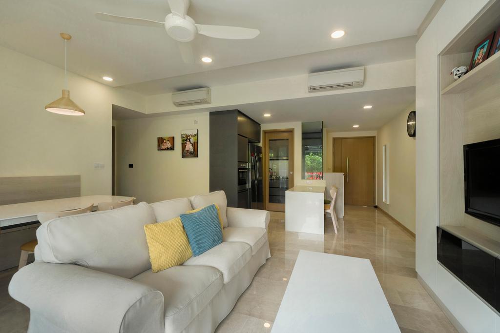 Contemporary, Condo, Living Room, River Isles, Interior Designer, Cozy Ideas Interior Design