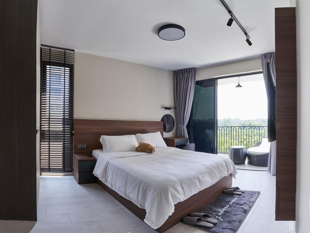 Contemporary, Condo, Bedroom, Westwood Residences, Interior Designer, Charlotte's Carpentry