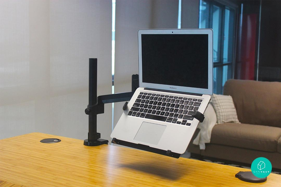 ErgoEdge ergonomic standing height adjustable desk