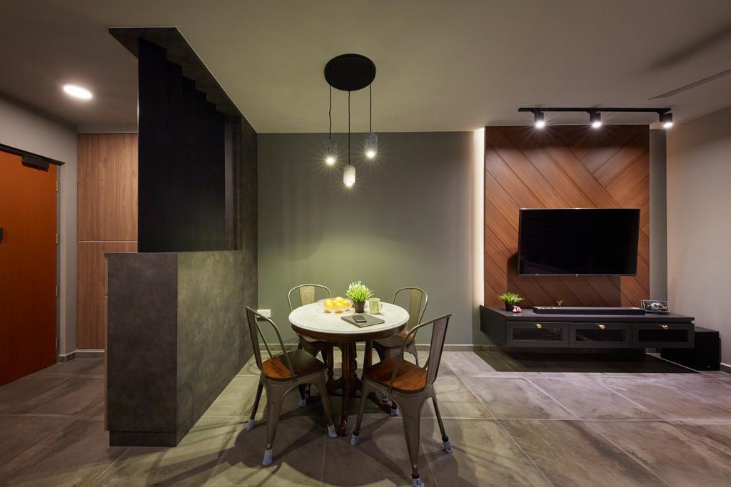 Contemporary, HDB, Living Room, Henderson Road, Interior Designer, The Interior Lab