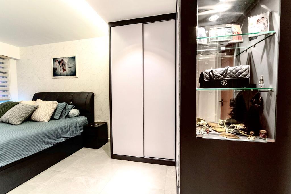 Contemporary, HDB, Bedroom, Bukit Batok West, Interior Designer, MET Interior