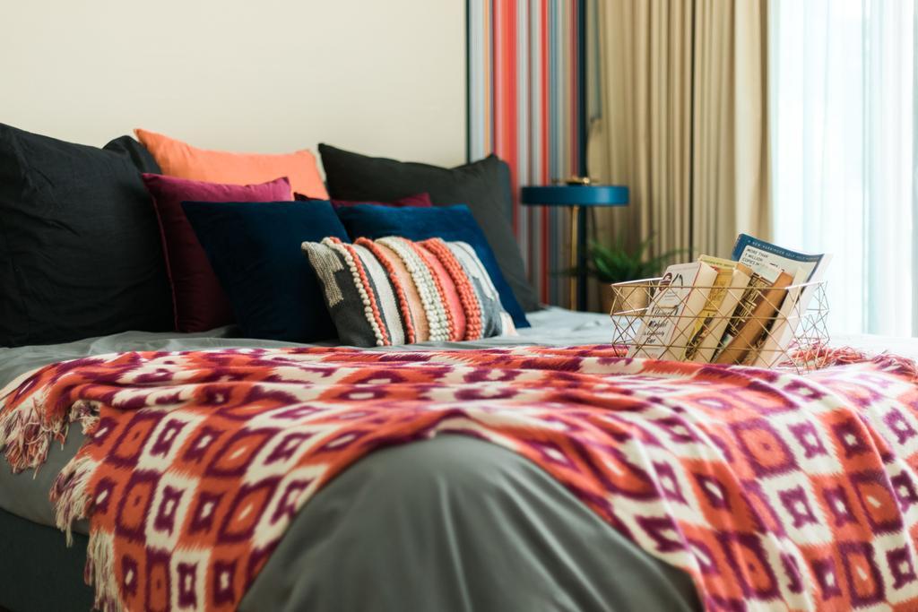 Contemporary, Condo, Bedroom, Waterfall Gardens, Interior Designer, Home Philosophy