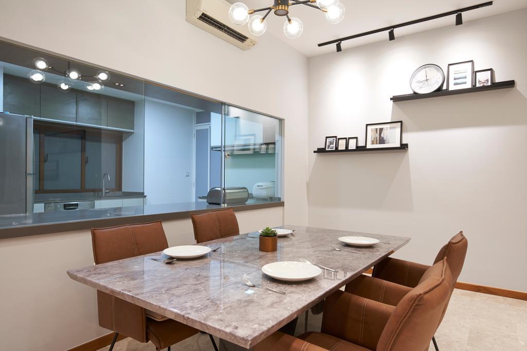 Contemporary, Condo, Dining Room, Park Natura, Interior Designer, Jubilee Interior