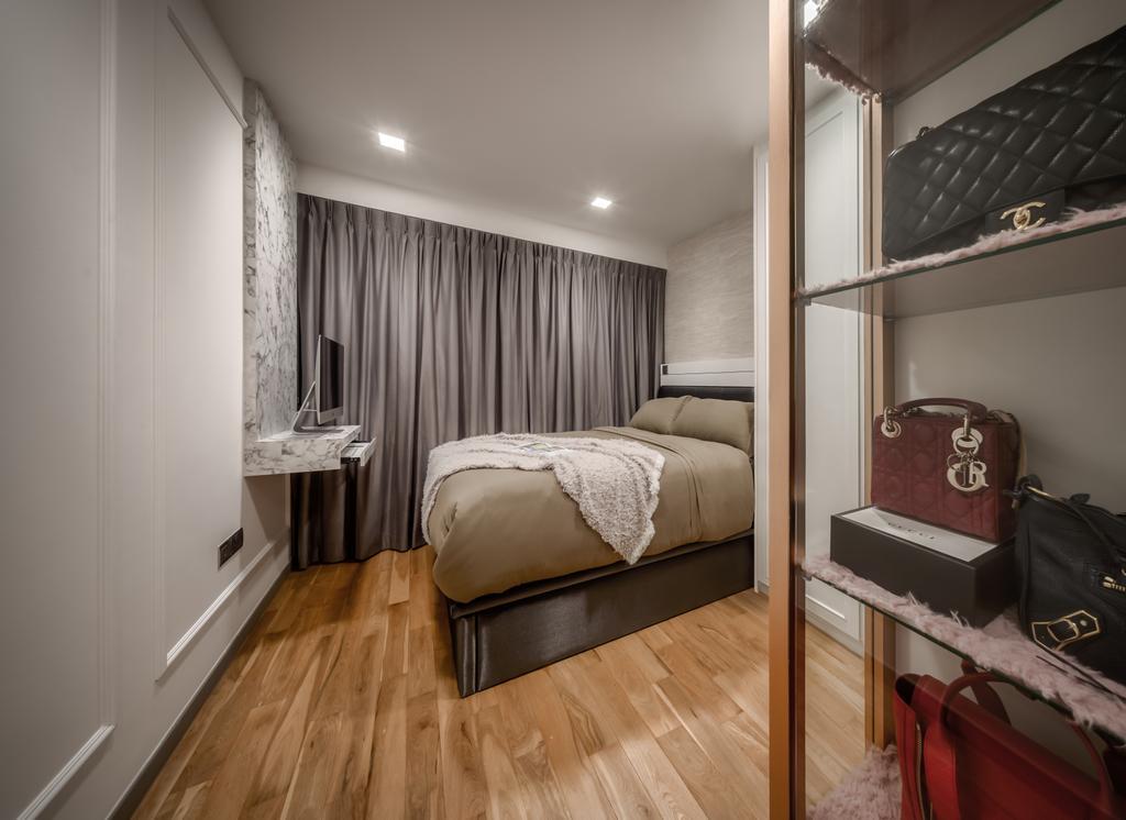 Contemporary, Condo, Bedroom, Riversails, Interior Designer, Weiken.com
