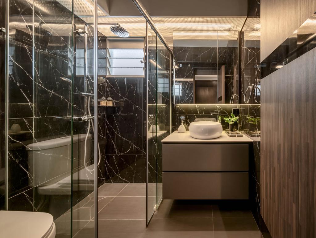 Contemporary, HDB, Bathroom, Telok Blangah Street 31, Interior Designer, Weiken.com