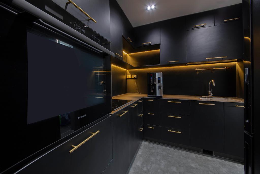 Contemporary, Condo, Kitchen, Lakeholmz, Interior Designer, Butler Interior