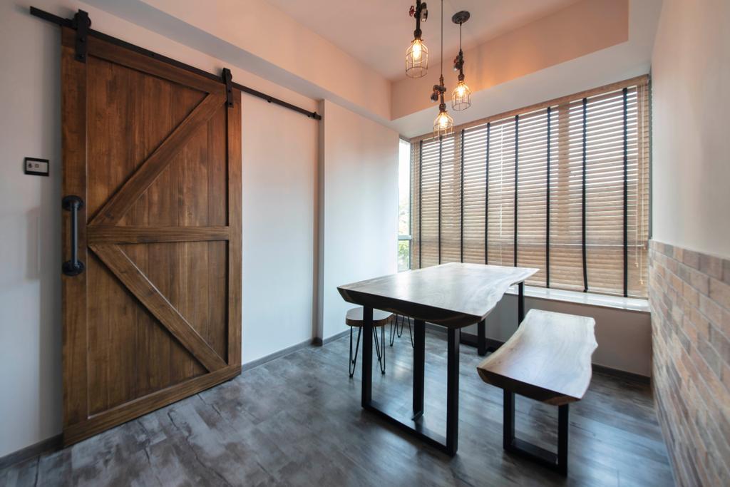 Contemporary, Condo, Dining Room, Lakeholmz, Interior Designer, Butler Interior
