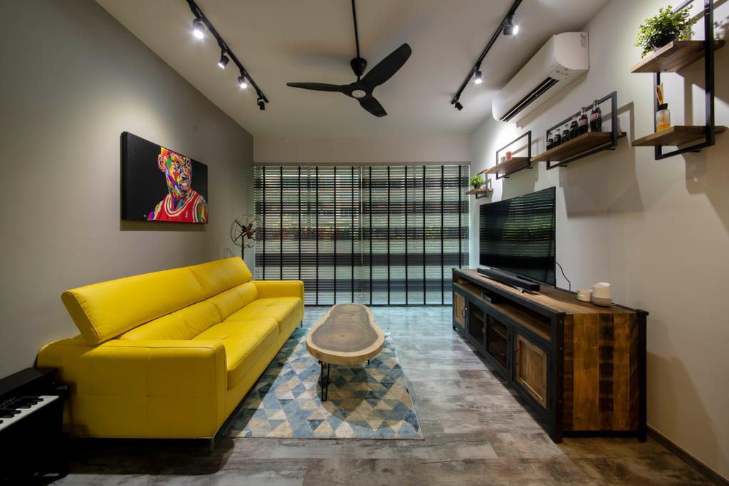 Contemporary, Condo, Living Room, Lakeholmz, Interior Designer, Butler Interior