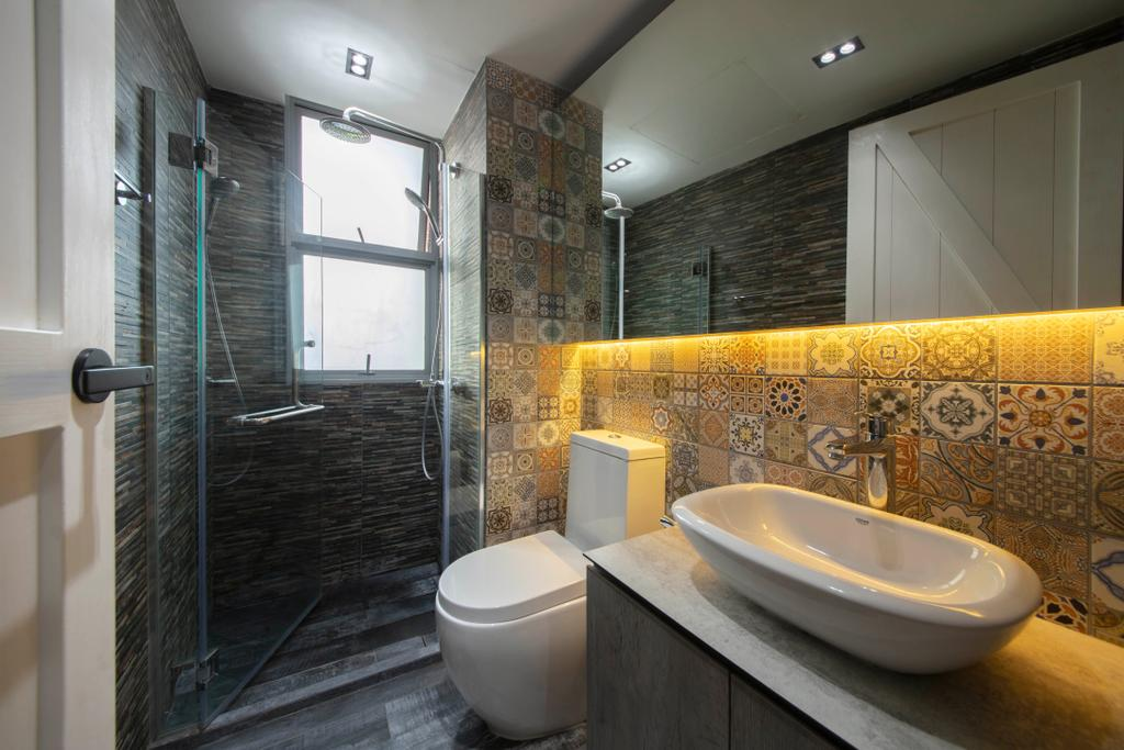 Contemporary, Condo, Bathroom, Lakeholmz, Interior Designer, Butler Interior