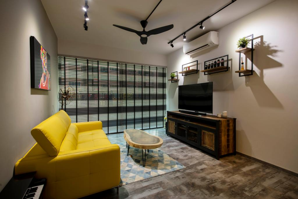 Contemporary, Condo, Living Room, Lakeholmz, Interior Designer, Butler Interior