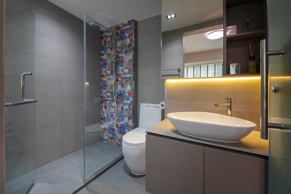 Contemporary, Condo, Bathroom, Lakeholmz, Interior Designer, Butler Interior