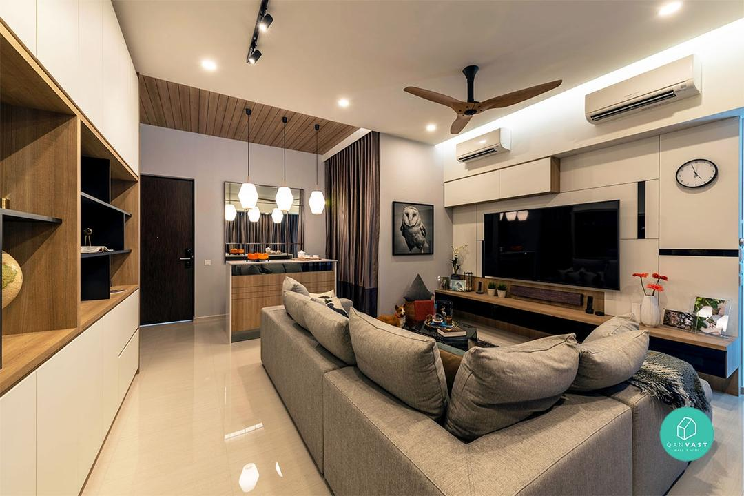 At 261sqm, This Huge Penthouse is Bright and Airy Done Right