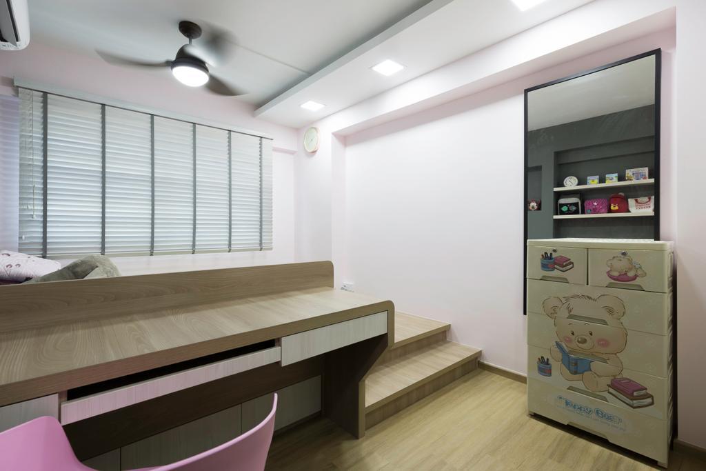 Contemporary, HDB, Bedroom, Choa Chu Kang Avenue 4, Interior Designer, Tab Gallery