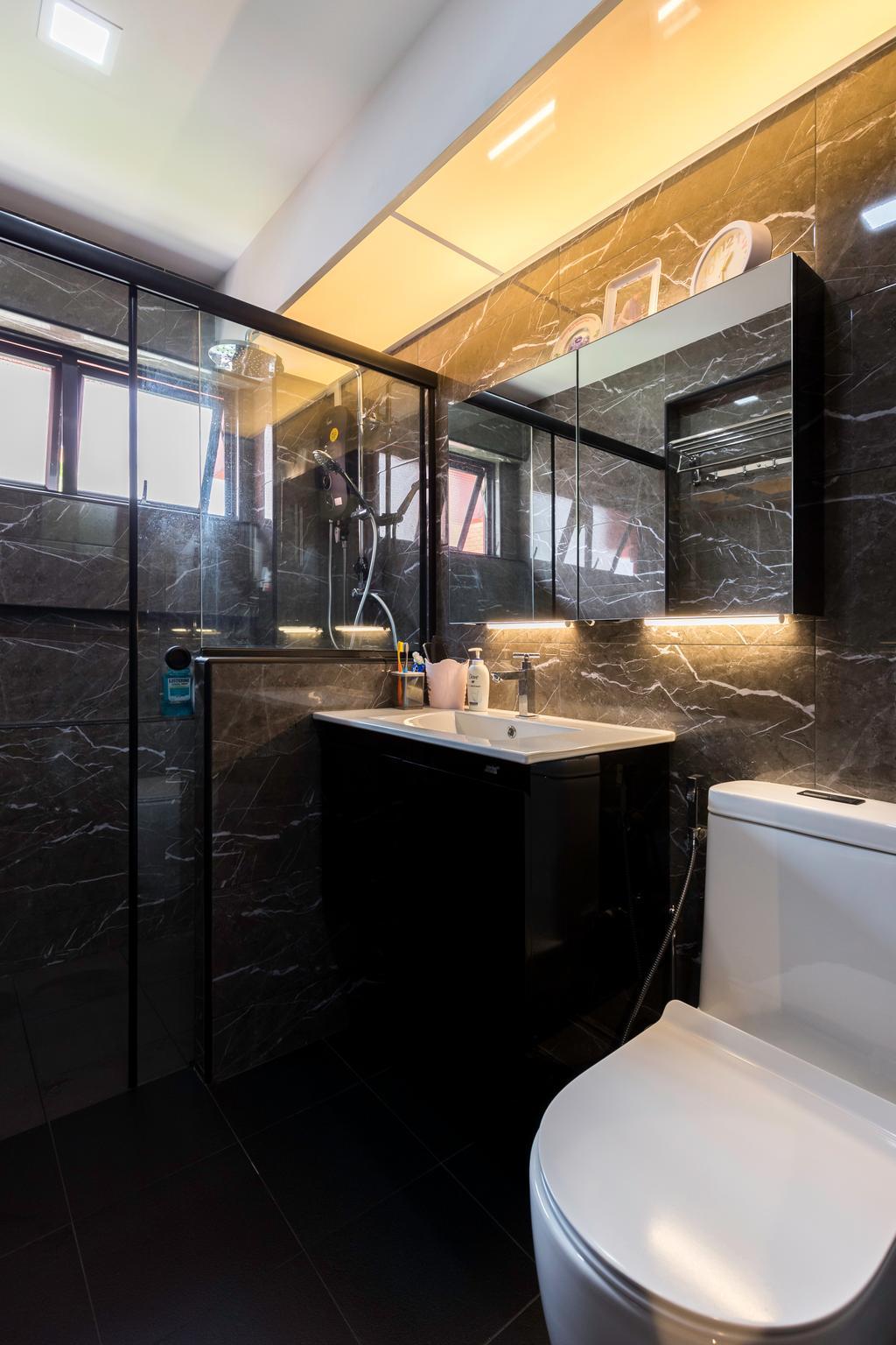 Contemporary, HDB, Bathroom, Choa Chu Kang Avenue 4, Interior Designer, Tab Gallery