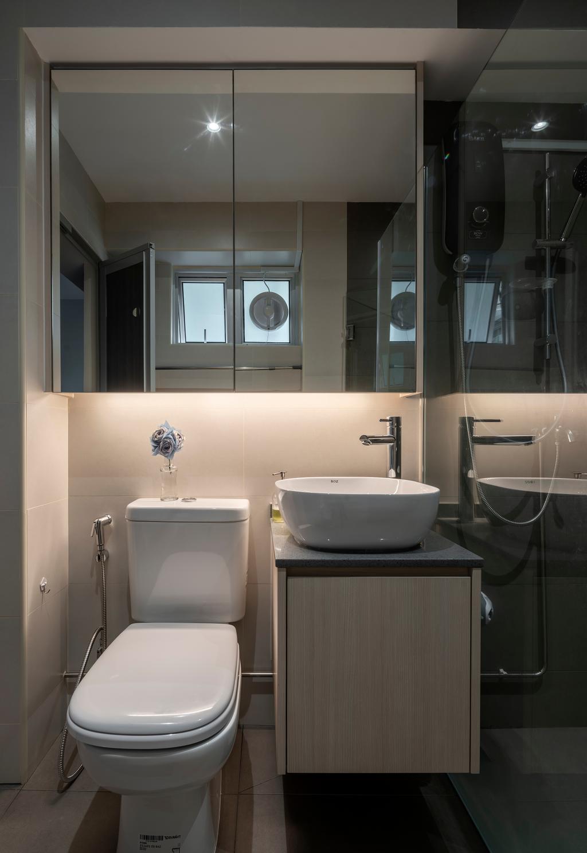 Contemporary, HDB, Bathroom, Bedok North, Interior Designer, Stylemyspace